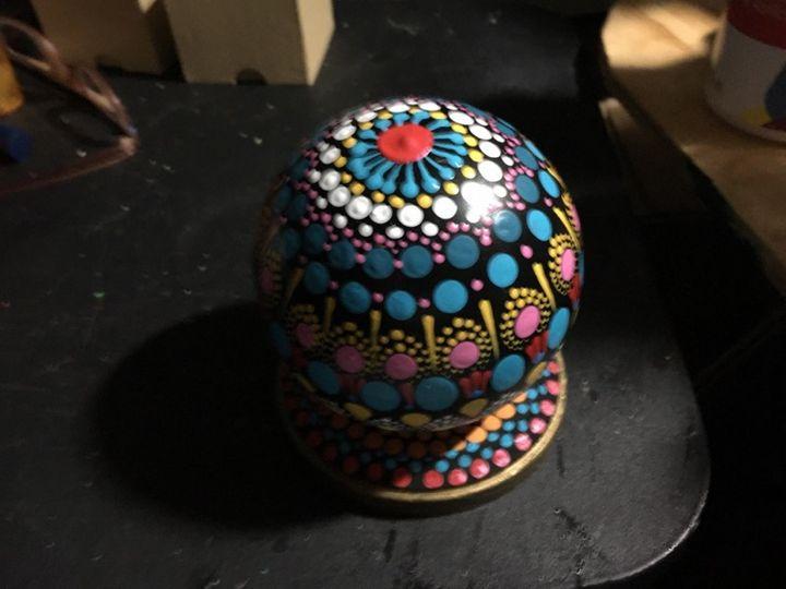 sphere of dots - uldenes artistry