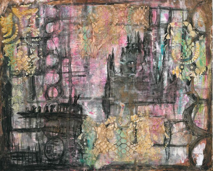 Fairytale Abstract Collage - Shawnta Williams