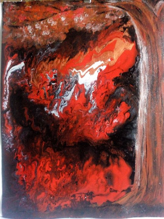 Fire in the forest - Ksha Arts