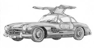 Mercedes-Benz 300SL - 1955