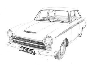 Ford-Lotus Cortina - 1964