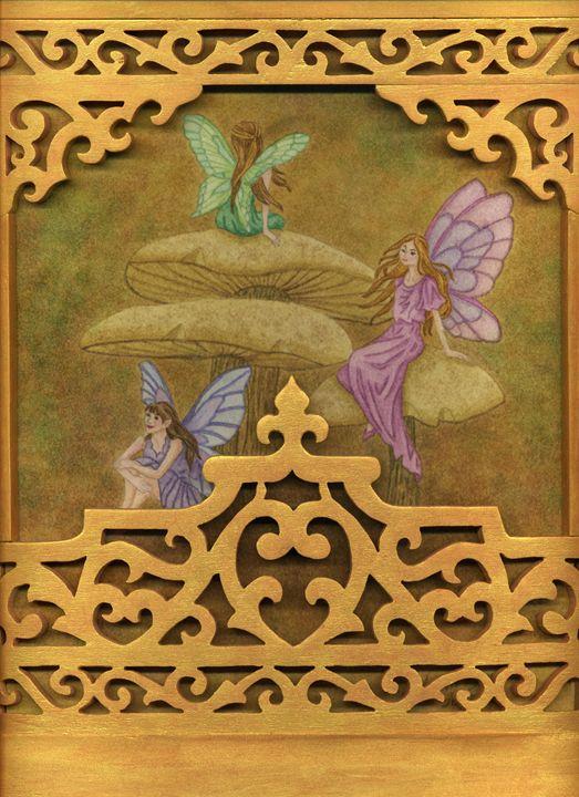 Faerie on Mushrooms - Jenna Isabel Rose