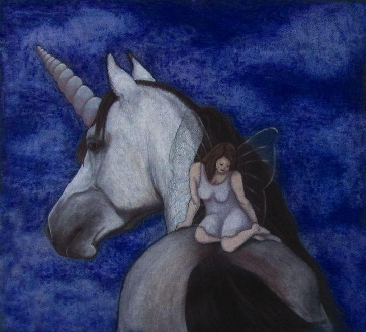 Faerie Contemplation - Jenna Isabel Rose