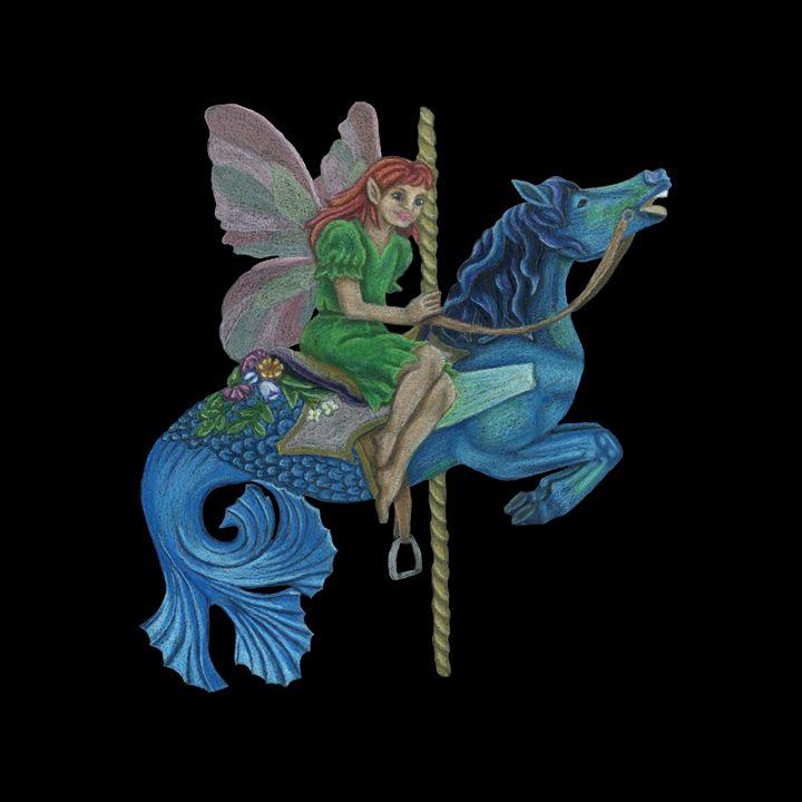 Faerie Fantasy Carousel - Jenna Isabel Rose