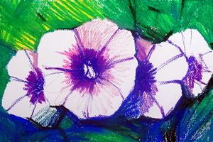 Yam flower