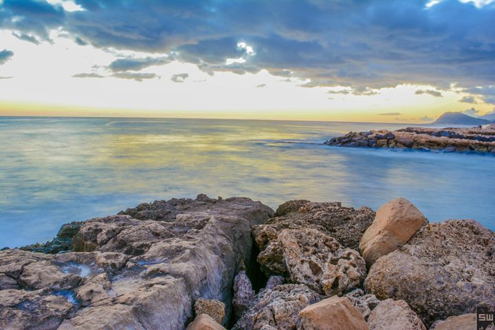 Rocky Sunset - Sam Wood Photograph-@natures_perspective