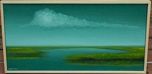 Plum Island Oil Painting