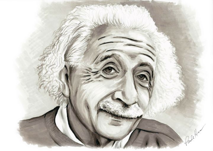 Albert Einstein - Paula's Art