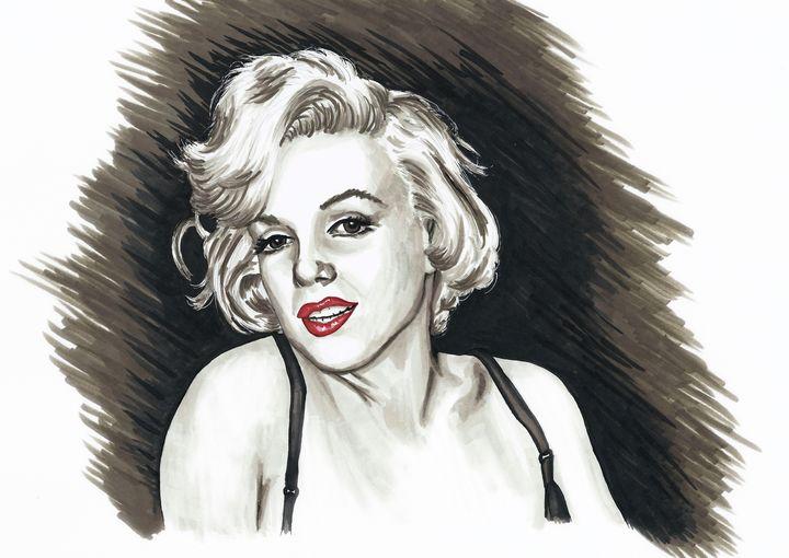 Marilyn Monroe - Paula's Art