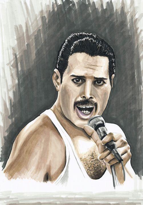 Freddie Mercury - Paula's Art