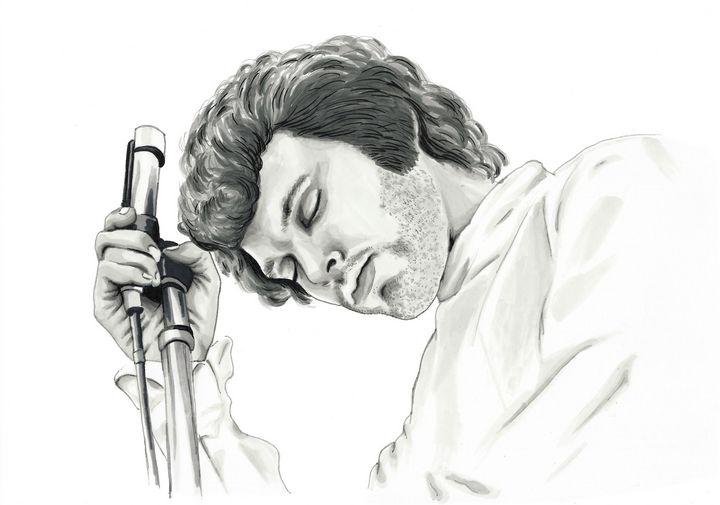 Jim Morrison - Paula's Art