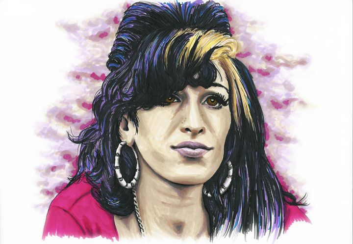 Amy Winehouse - Paula's Art