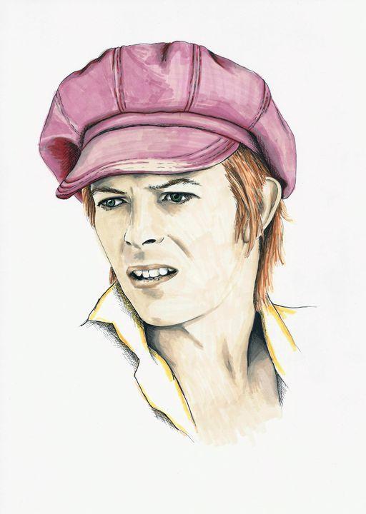 David Bowie - Paula's Art