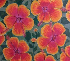 Hibiscus In the Garden of Eden