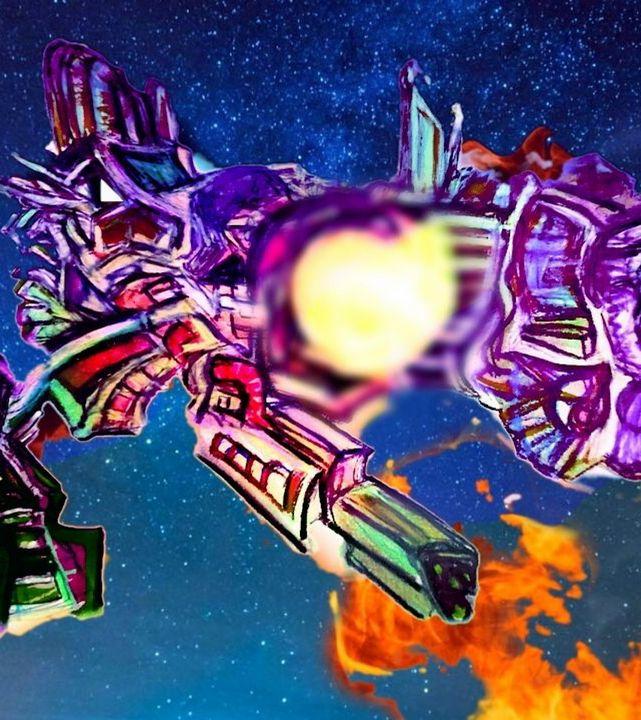 Space Pirates - Jangalang Artworks