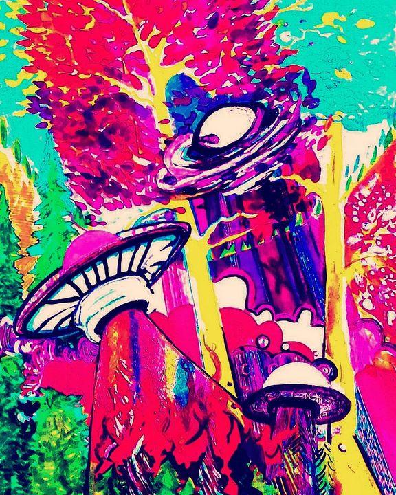 9021-UFO - Jangalang Artworks