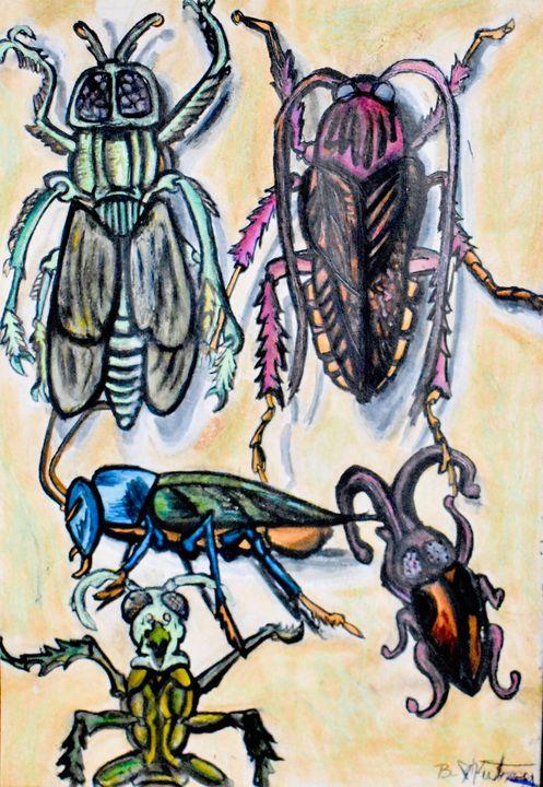 Bugs - Jangalang Artworks