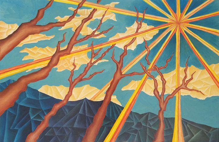Sun Over the Mountains - Melissa Frisella