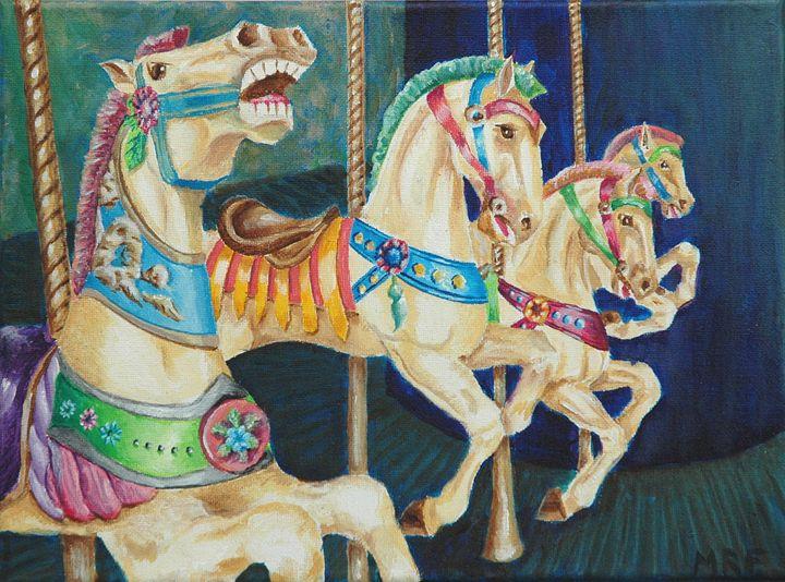 Carousel Horses - Melissa Frisella