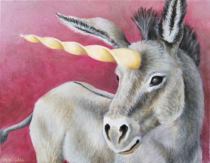 The Unicorn Donkey - Melissa Frisella