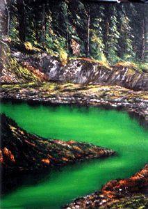 A Glacier Fed Riverbank - David Montgomery