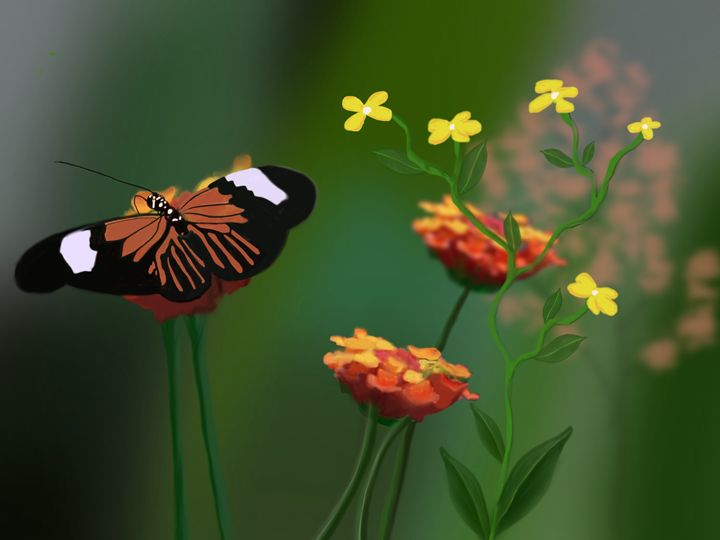 Spring Monarch - David Montgomery