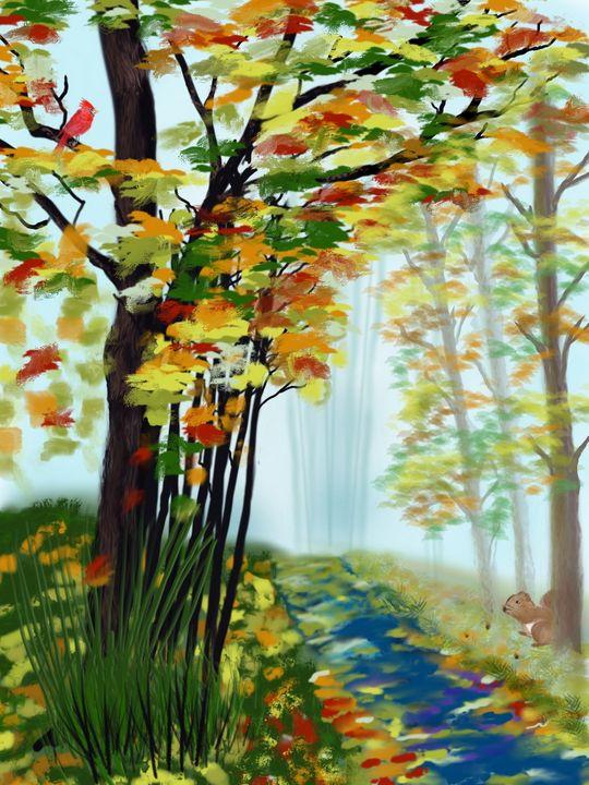 Autumn Pathway - David Montgomery