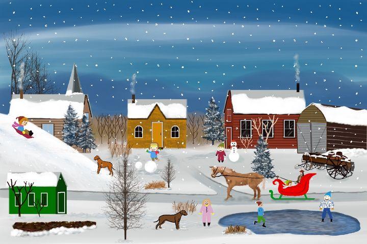 Winter Fun - David Montgomery