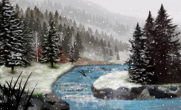 Winter River - David Montgomery