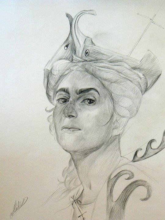 Self-portrait as Isis Pharia - Heidi's Gallery