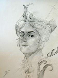 Self-portrait as Isis Pharia