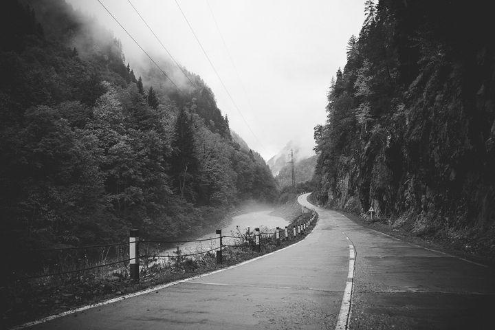 Road of Georgia - Alechkov