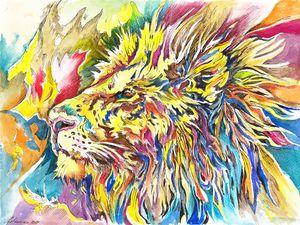 Lion. Wonderland Series