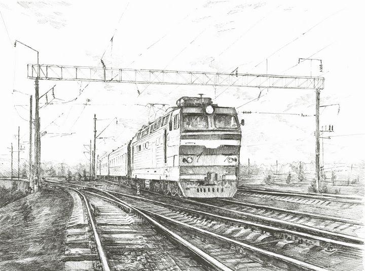 The Train - Alexander Petrunine