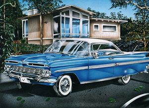 Past to Present - Mark Vasquez Illustrations Gallery