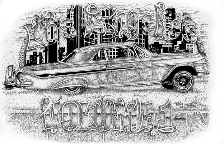 Los Angeles Volume 1 - Mark Vasquez Illustrations Gallery