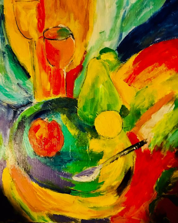 Still life with Fruit - Carols Colorful Art