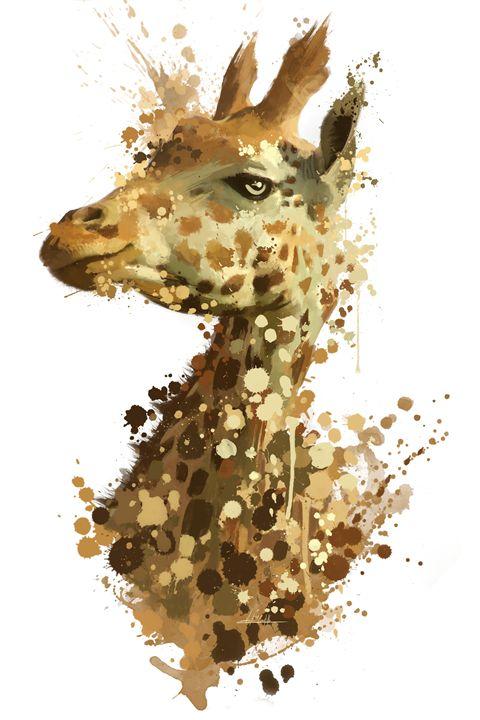 Morning Giraffe - Refined Horizon