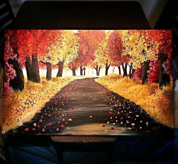 Autumn Road - Nick Jones