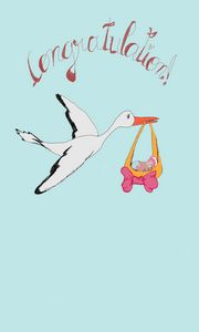 When the stork come