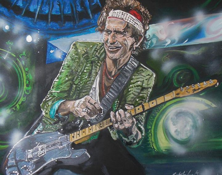 Keith Richards - Grant Netherlands