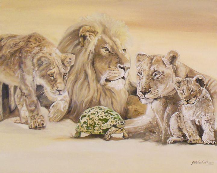 Lion pride - Grant Netherlands