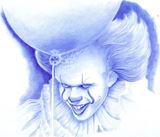 drawing ballpoint pens on paper