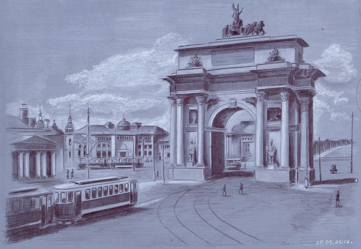 The Triumphal Gate. Moscow - Oleg Kozelsky