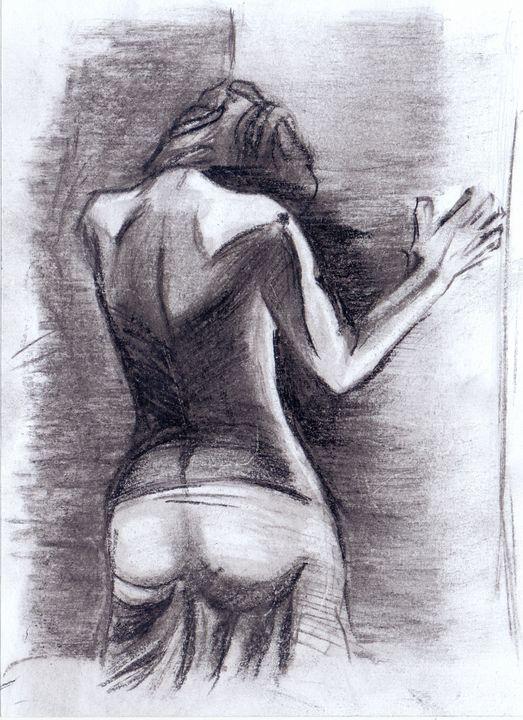 woman from the back - Oleg Kozelsky
