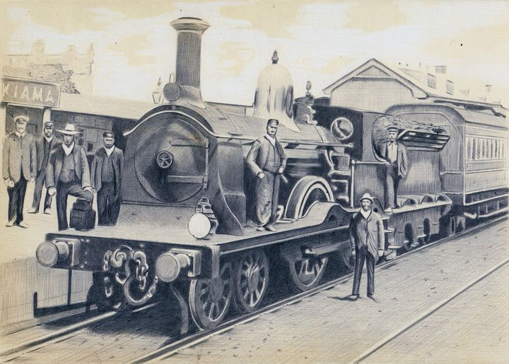 LNER D-series steam locomotive photo - Oleg Kozelsky