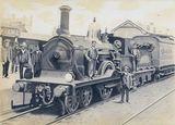 LNER D-series steam locomotive photo