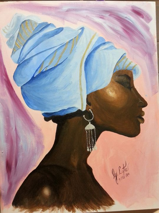 melanated blues -  Godlynlyte