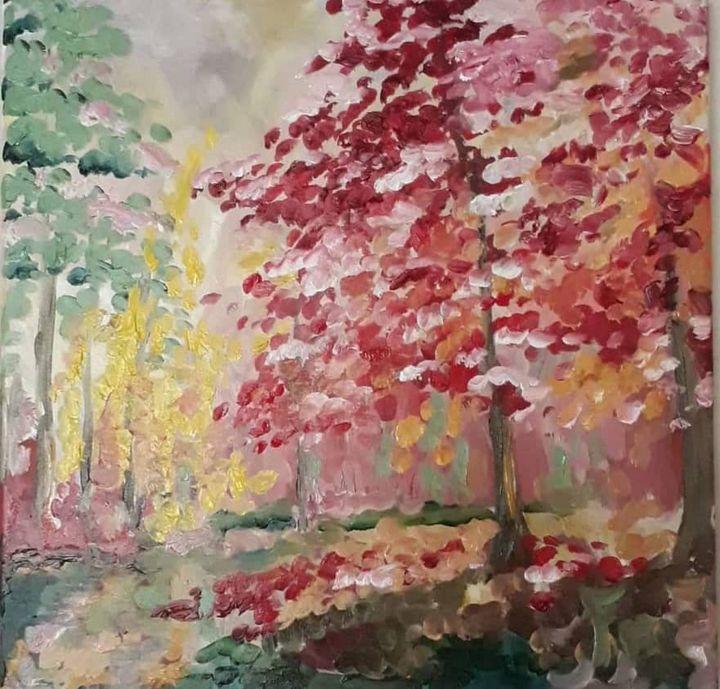 Autumn Wood - Pridon Arabidze's Art