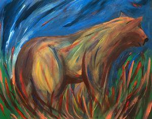 Colorful Bear - Paint the Sky